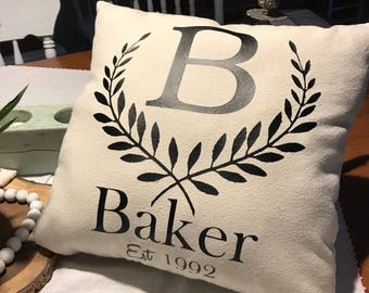 Custom Pillow Cover