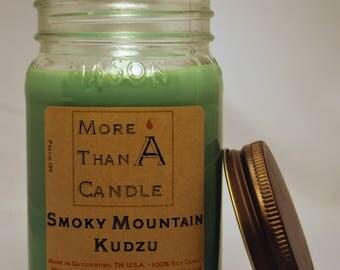 16 oz Smoky Mountain Kudzu Soy Candle
