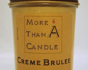 8 oz Creme Brulee Soy Candle