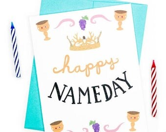 Moving SALE Funny Birthday Card - Happy Name Day Birthday Card - Happy Nameday Card