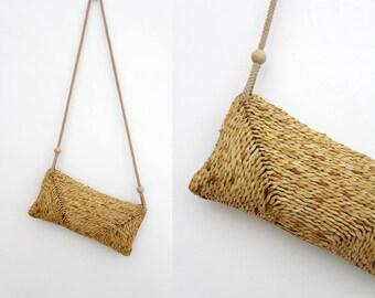 Vintage straw purse