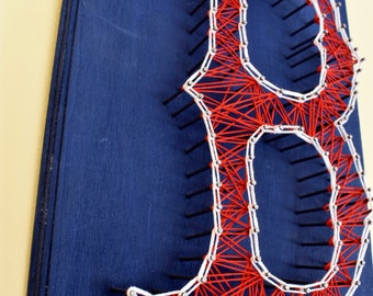 Boston Red Sox - String Art