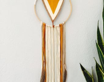 100 % suede and leather dreamcatcher