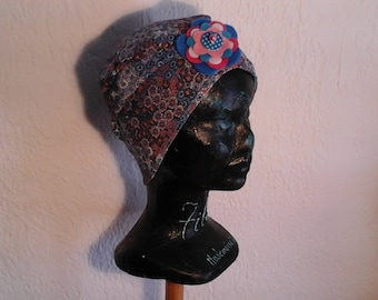 Child chemo liberty, reversible, stretchy hat, season, summer