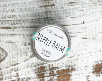Nipple Balm, Safe for Baby, Natural