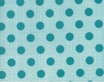 Jen Kingwell Circulus Tiny Plaid Polka Dot Stone Grey Fabric 18131-16 BTY