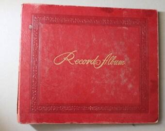 45 RPM Record Holder Album c1950s