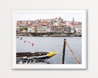 Portugal Print, Porto Portugal, Portugal Colors, Portugal Photography, Portugal Wall Art, Portugal Pictures, Portugal Images