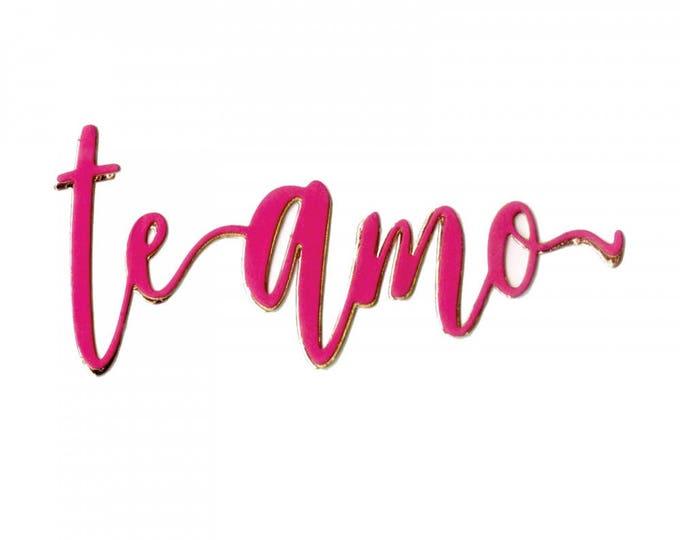 Sizzix Thinlits Die - Te Amo (I Love You) by Luisa Elena Guillen-K 662342