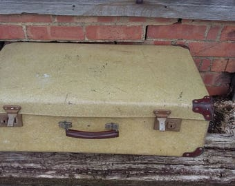 Vintage Luggage Suitcase Storage