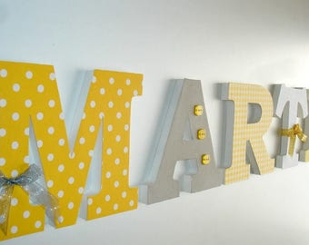 MARTIN - Decoration wood - letter name