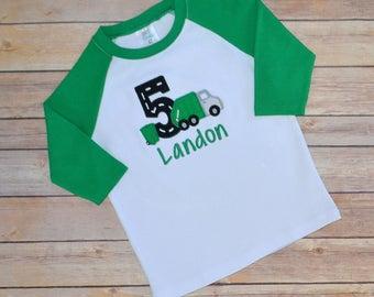 Garbage truck birthday shirt,- trash truck birthday shirt,- trash truck party,- boy birthday shirt,- first birthday,- second birthday,-