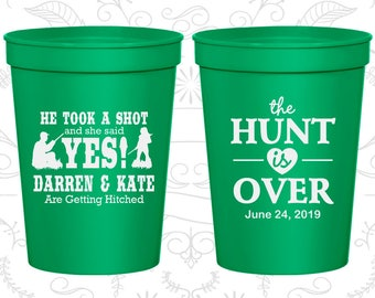 Green Stadium Cups, Green Cups, Green Party Cups, Green Wedding Cups (03)