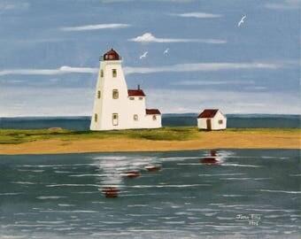 Northport Lighthouse, Prince Edward Island, Canada