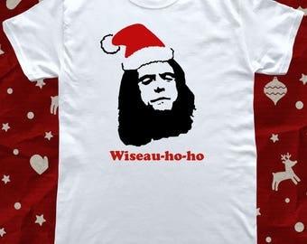 The Room Christmas Ho Ho Ho Funny T-Shirt