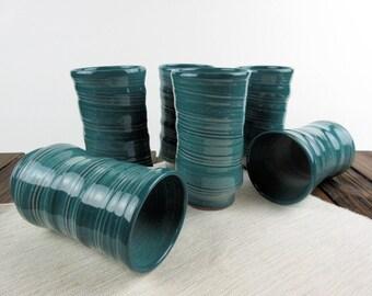 Green, Tall Mug, extra large coffee mug, coffee cup, travel mug, large, travel mug, pottery mug, ceramic mug, organic coffee