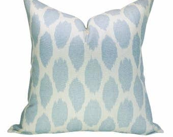 Adras pillow cover in Soft Windsor Blue on Tint