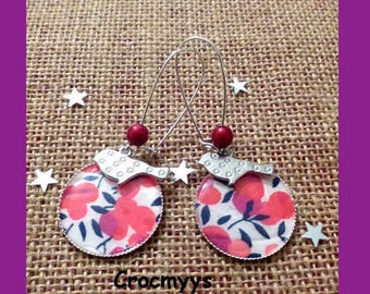 Big earrings liberty wiltshire Red