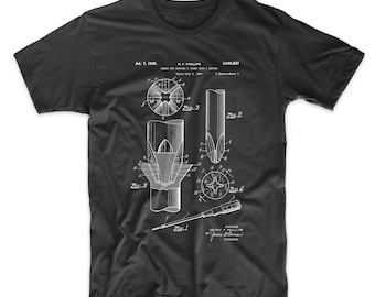 Phillips Head Screw Driver Patent T Shirt, Woodworking Tools, Unique Gifts for Dad, Tool Shirt, PP0153