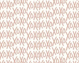 Yes Please - Xos Cream by My Mind's Eye for Riley Blake, 1/2 yard, SC6552-Cream