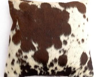 Natural Cowhide Luxurious Hair On Cushion/ Pillow Cover (15''x 15'') A44