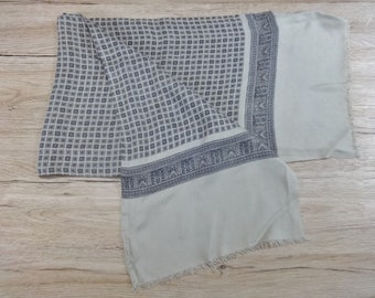 "Vintage Hipster Mens scarf 123cm x 27cm / 48.4"" x 10.6"""