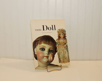 Vintage The Doll, New Shorter Edition Paperback Book By Carl Fox, Photographs By H. Landshoff (c. 1973) Doll History Reference Book