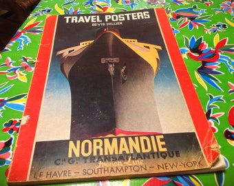 Vintage Travel Posters book- suitable for framing