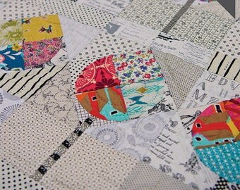 Free Shipping! THE AVENUE Acrylic TEMPLATES Only By Louise Papas For Jen Kingwell Pattern