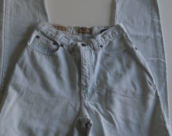 80s/90s Vintage Express Jeans - Bleach Wash - Size 2
