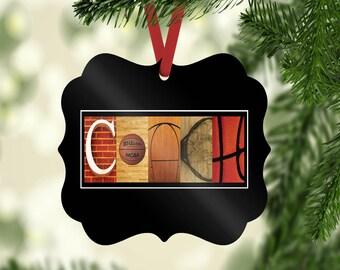 Basketball Coach Ornament, Christmas Ornament, Coach Ornament Gift, Basketball Christmas Ornament, Basketball Ornament, gifts under ten,