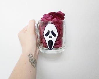 Scream Ghostface Glass Halloween Coffee Mug
