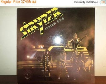 Save 30% Today Vintage 1985 Vinyl LP Record Stryper Soldiers Under Command Near Mint Condition Heavy Metal 11636