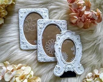 s a l e vintage frames mini frames shabby chic frames wedding picture frames ornate - Mini Frames