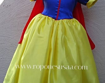 Christmas in July Deals Beautiful Snow White Costume dress,