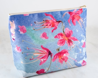Claire Louise Printed Floral Wash Bag