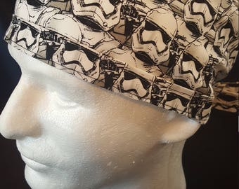 Star Wars Storm Troopers Tie Back Surgical Scrub Hat