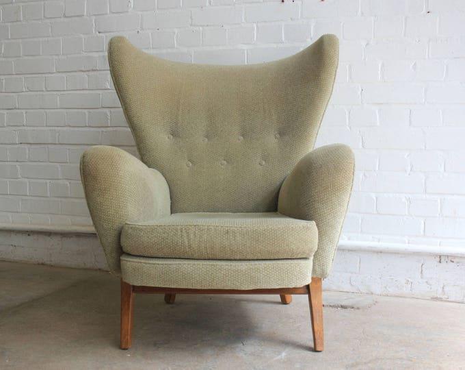 Mid Century Wingback Armchair By G Plan Circa 1960's