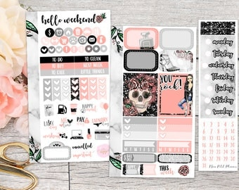 You Rock! Personal Weekly Kit || Planner Stickers