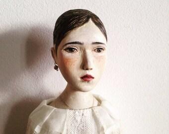 Wooden art doll