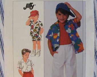 41% OFF 1980s Boy's Shirt, Pants, Shorts - Uncut Simplicity Sewing Pattern 8157