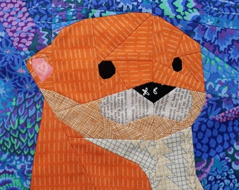 Otterly Adorable- A Foundation Paper Pieced Pattern