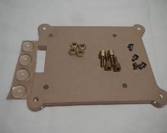 Raspberry Pi 3. Pi 2 , B+ Mounting Plate
