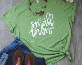 Just A Small Town Girl ©
