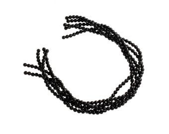 6mm Faceted Onyx Beads,Round Faceted Onyx Bead