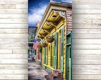 New Orleans Art -LEMONTREE -French Quarter Doors - Architecture - Photography -Doors-Shutters- Historic Building- Birch Boxes- Wood