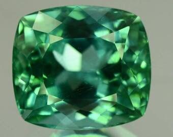 13.25 cts Flawless Lush Green Spodumene Gemstone