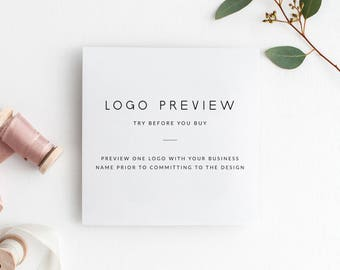 Logo Preview   Try Before You Buy   Preview ONE Logo Design