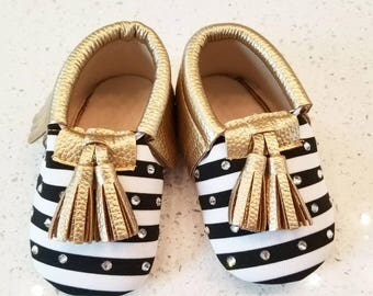 Sparkly Crib Shoes