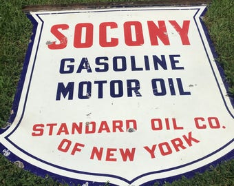 Standard oil sign etsy for What is the best motor oil on the market